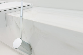 Hoop toilet brush holder  by  Ceramica Flaminia