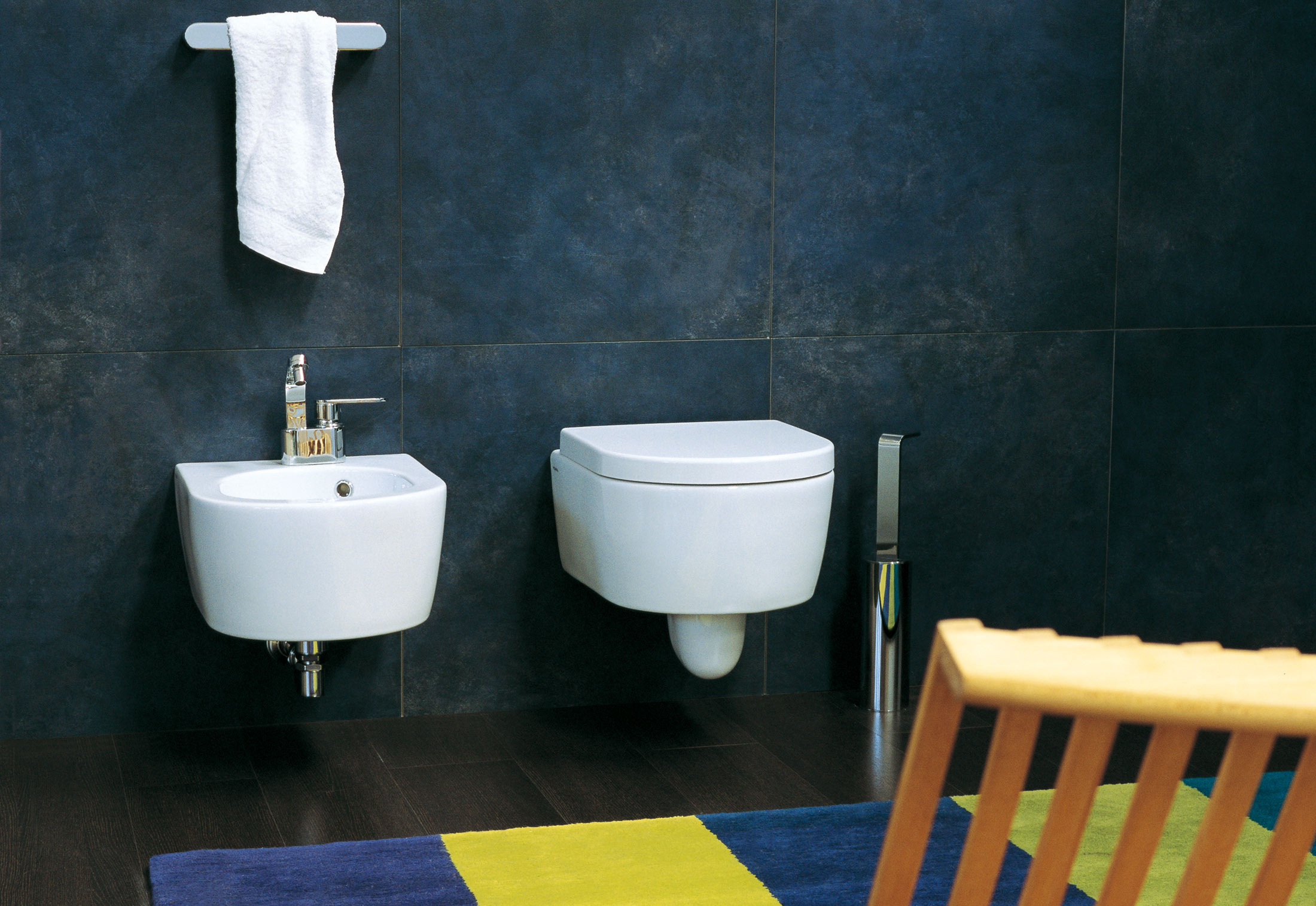 Pleasant Link Back To Wall Bidet By Ceramica Flaminia Stylepark Creativecarmelina Interior Chair Design Creativecarmelinacom