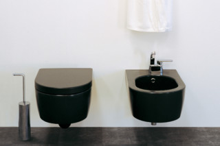 Link Back to Wall wc black  by  Ceramica Flaminia