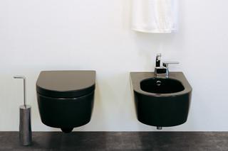 Link Back to Wall WC black  von  Ceramica Flaminia