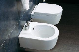 Mini Link bidet wall hung  by  Ceramica Flaminia