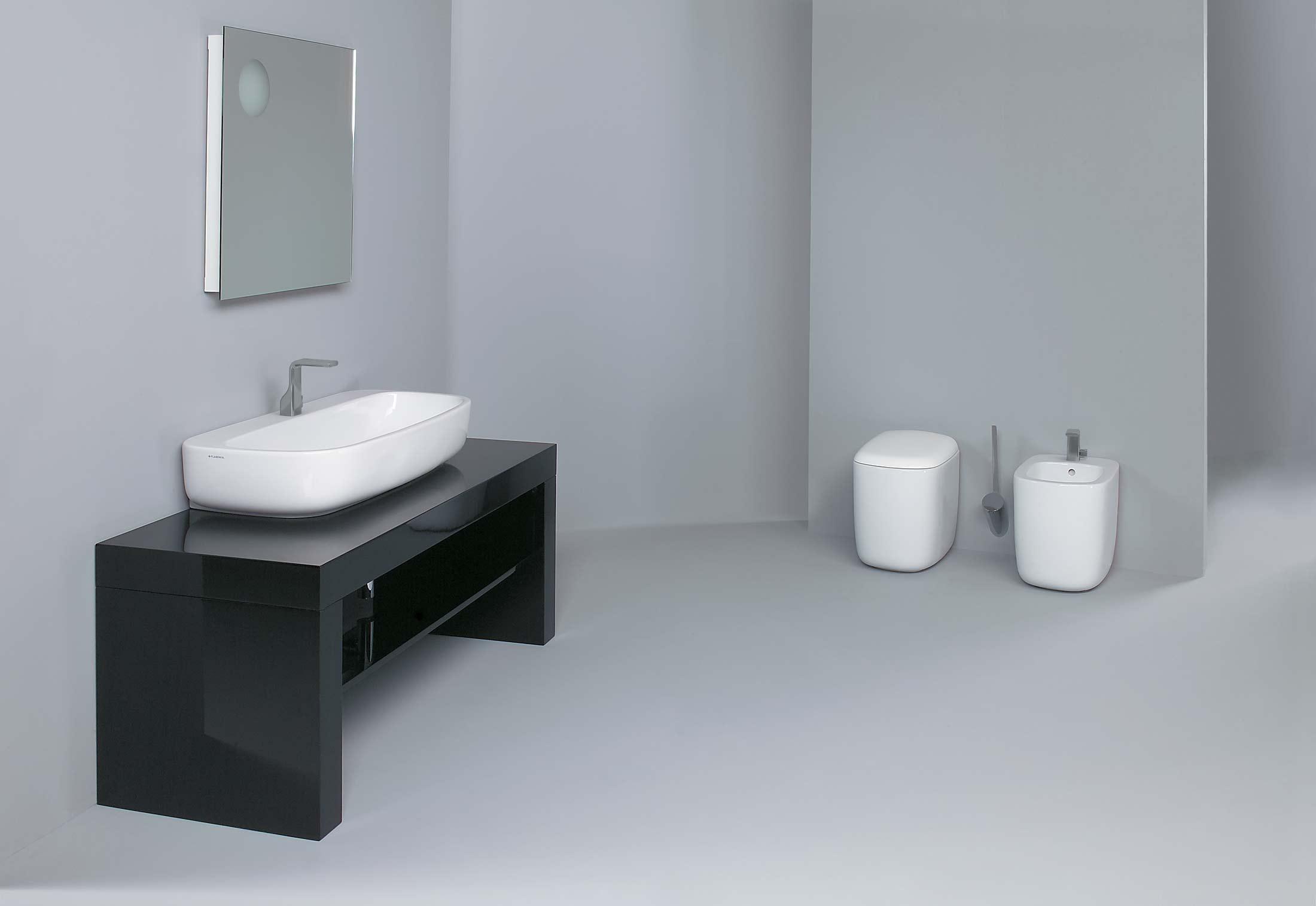 Mono` 100 basin by Ceramica Flaminia | STYLEPARK