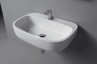 Mono` 74 basin  by  Ceramica Flaminia