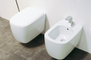 Mono` bidet wall hung  by  Ceramica Flaminia