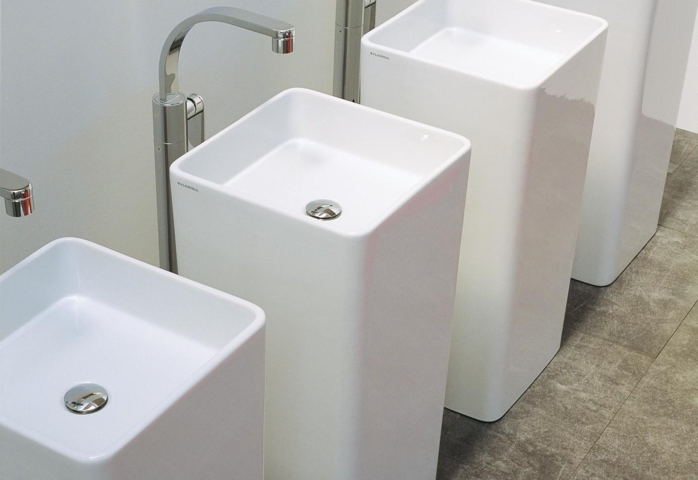 Monowash basin by ceramica flaminia stylepark for Flaminia lavabi