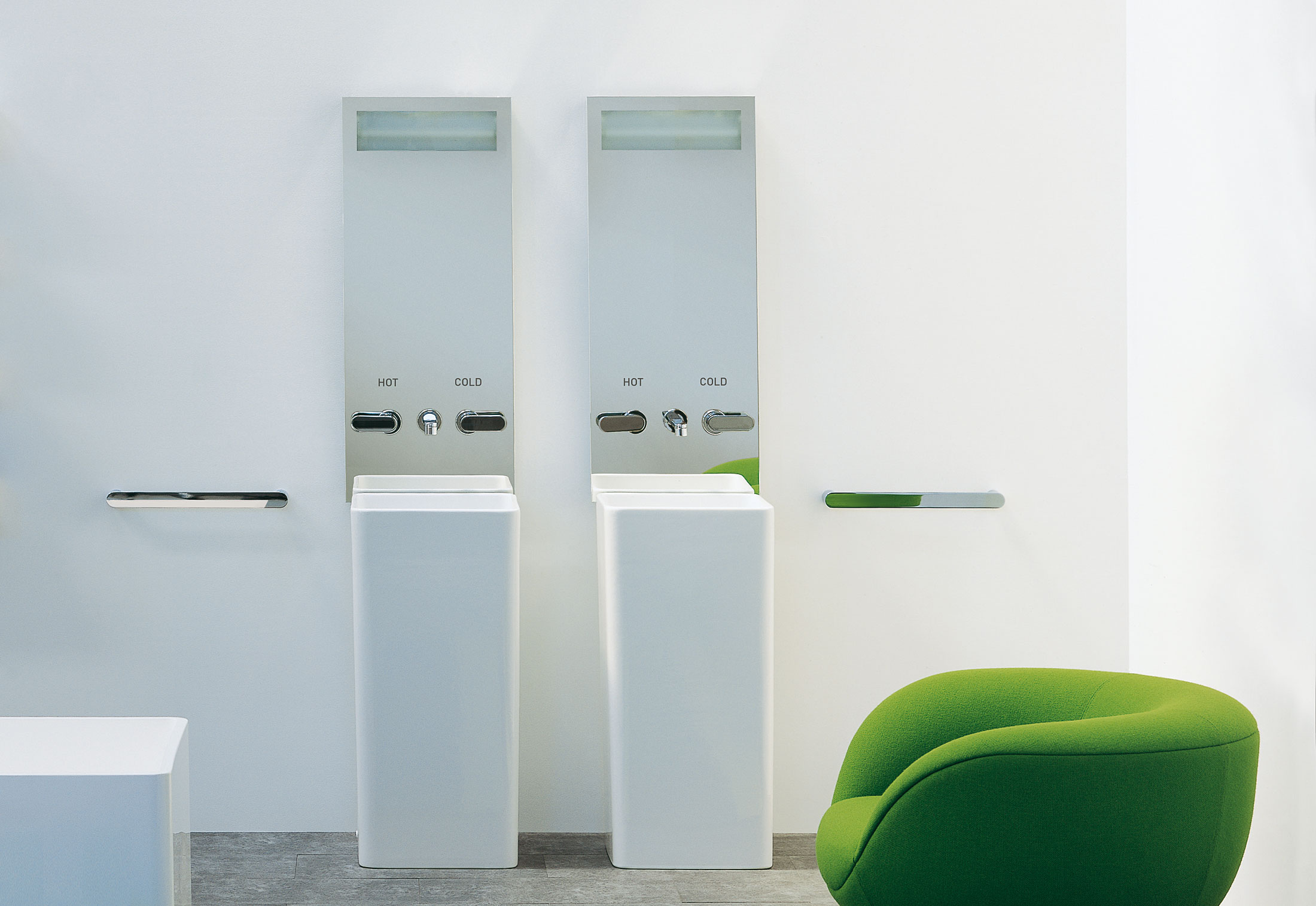 Roller Badspiegel.Monowash Basin By Ceramica Flaminia Stylepark