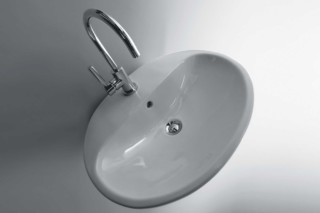Nuda 60 basin  by  Ceramica Flaminia