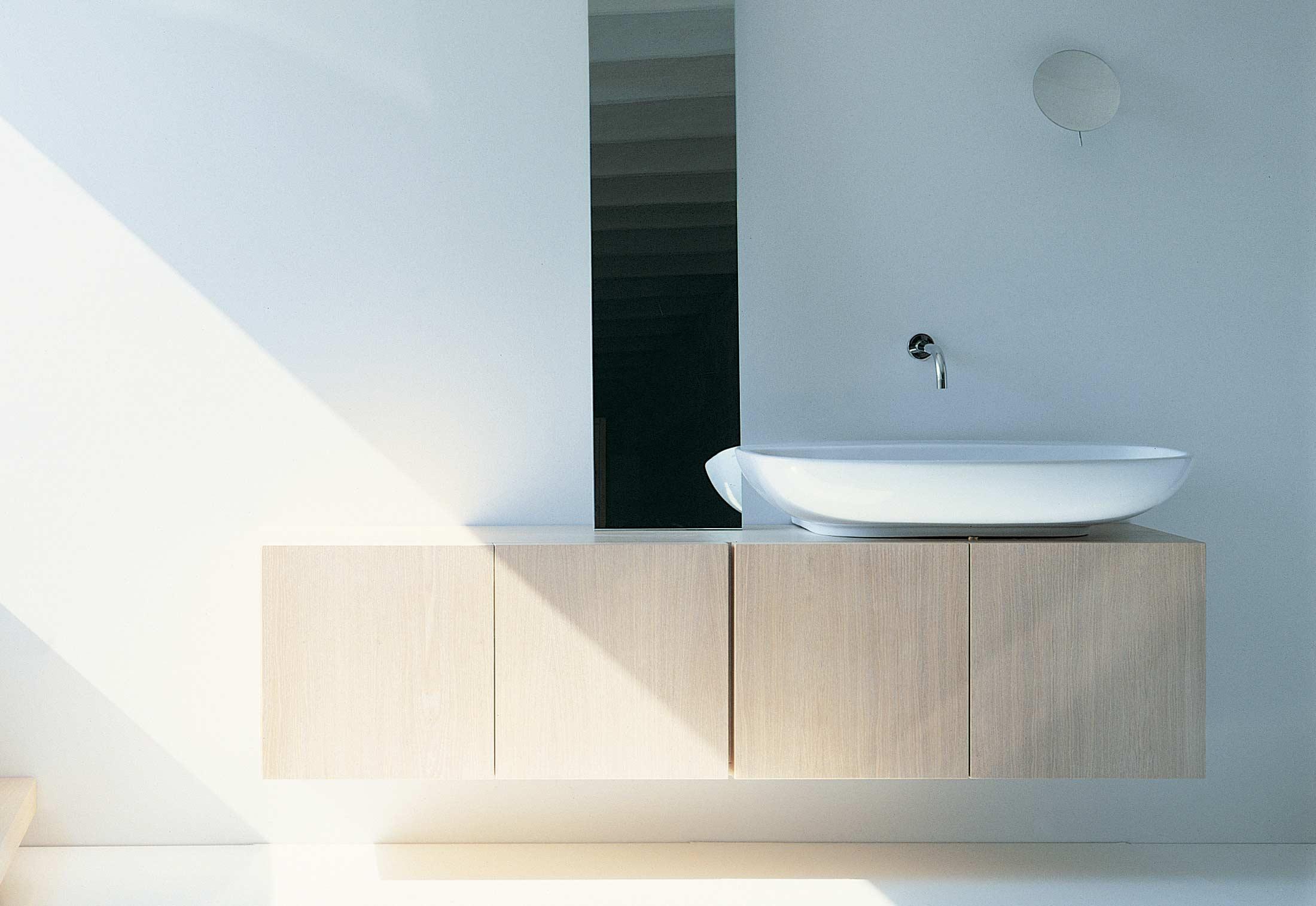 Nuda 85 Basin Center Drain By Ceramica Flaminia Stylepark