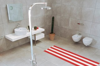 One shower mixer free-standing  by  Ceramica Flaminia