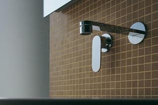 One single-lever mixer  by  Ceramica Flaminia