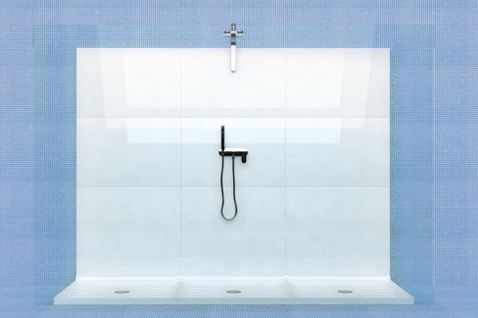 Plate Shower
