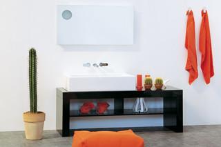 Simple 120 mirror  by  Ceramica Flaminia