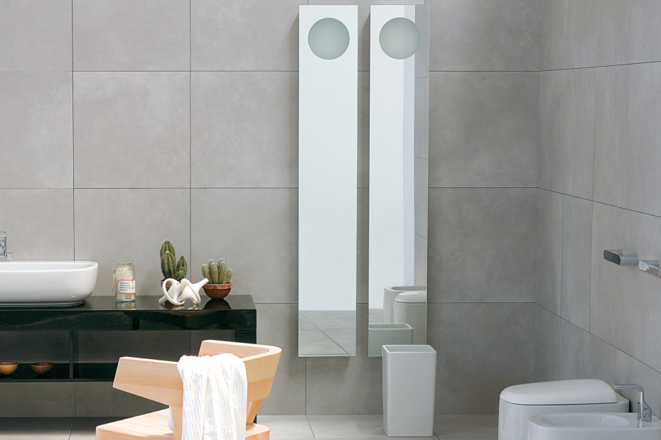 Simple 180 mirror
