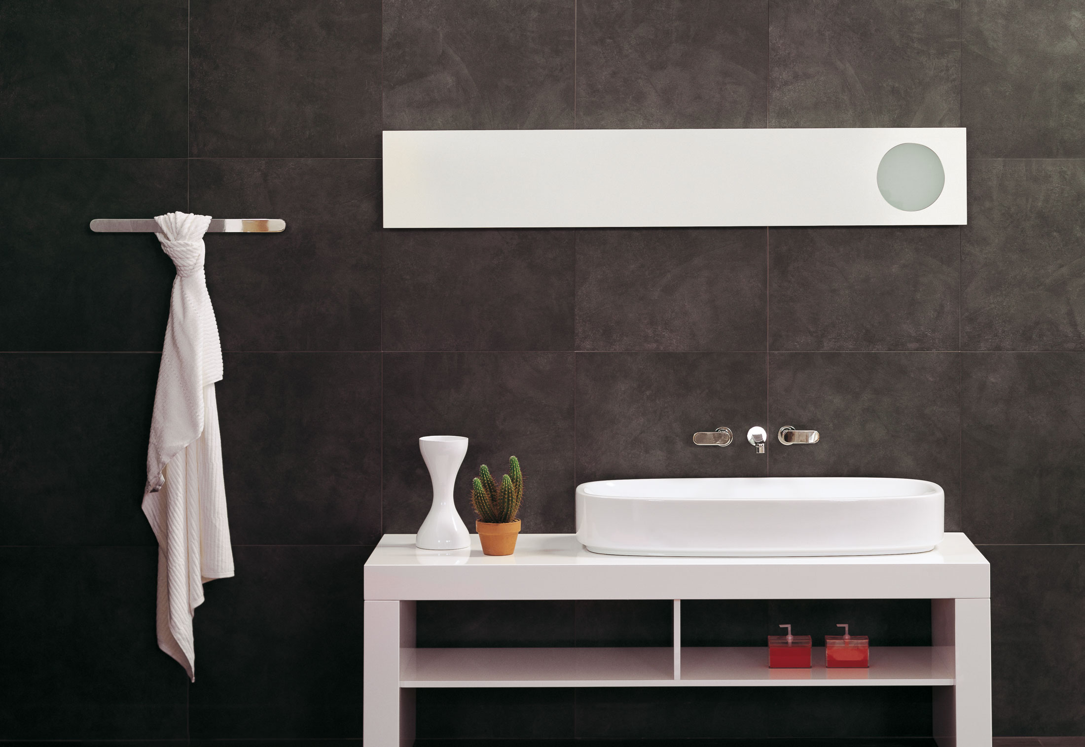 simple 180 spiegel von ceramica flaminia stylepark. Black Bedroom Furniture Sets. Home Design Ideas