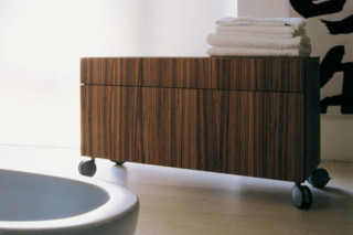 Simple 90 bath container  by  Ceramica Flaminia