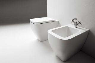 Terra wc  by  Ceramica Flaminia