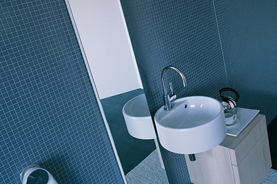 Twin Set 42 basin wall hung