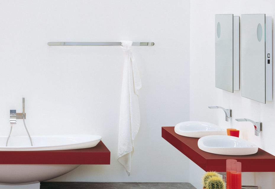 Two 120 towel holder