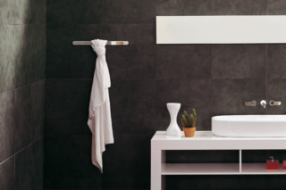 Two 60 towel holder  by  Ceramica Flaminia