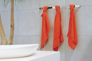 Two 90 towel holder  by  Ceramica Flaminia