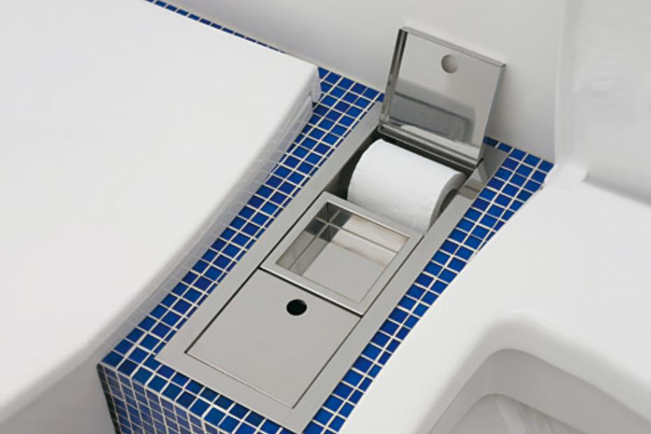 Una toilet set