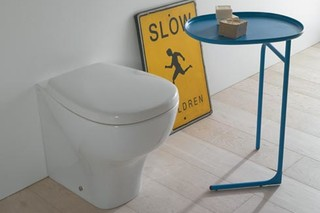 Affetto floor mounted pan  by  Ceramica Globo