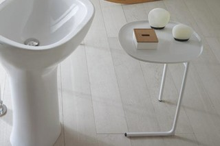 Affetto metal table  by  Ceramica Globo