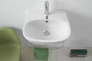Affetto washbasin small  by  Ceramica Globo