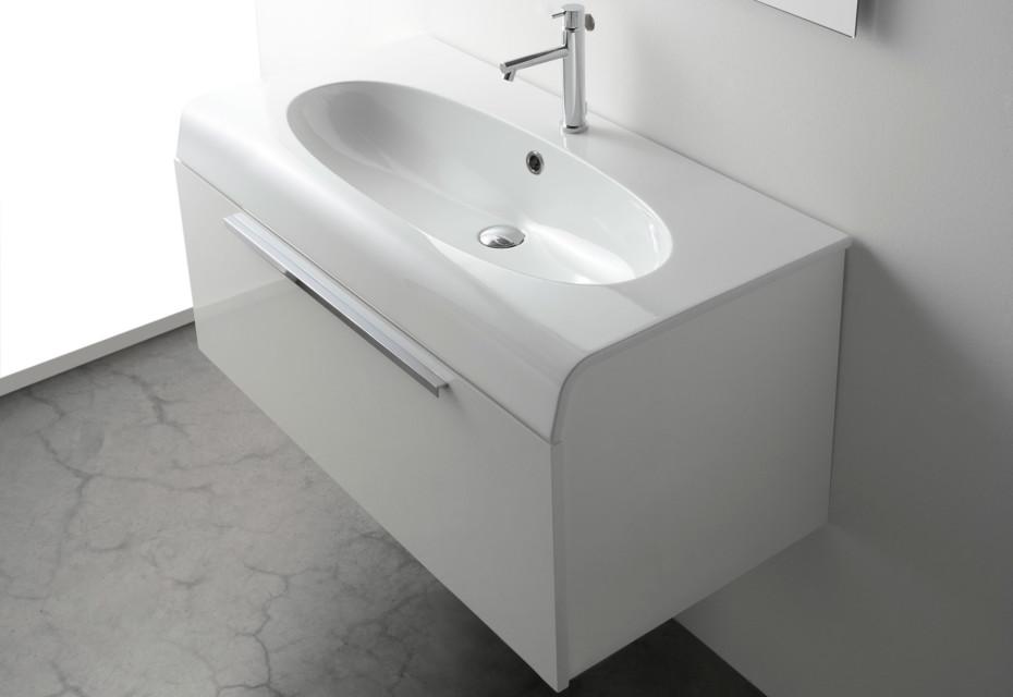 Ceramica Globo Space Stone.Bowl Washbasin By Ceramica Globo Stylepark