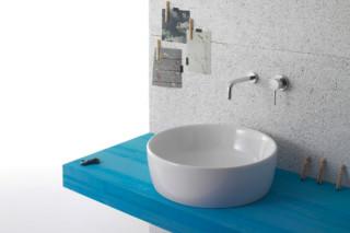 Genesis Aufsatzwaschbecken rund  von  Ceramica Globo