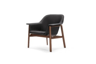 Sedan Lounge Chair Leder  von  ClassiCon