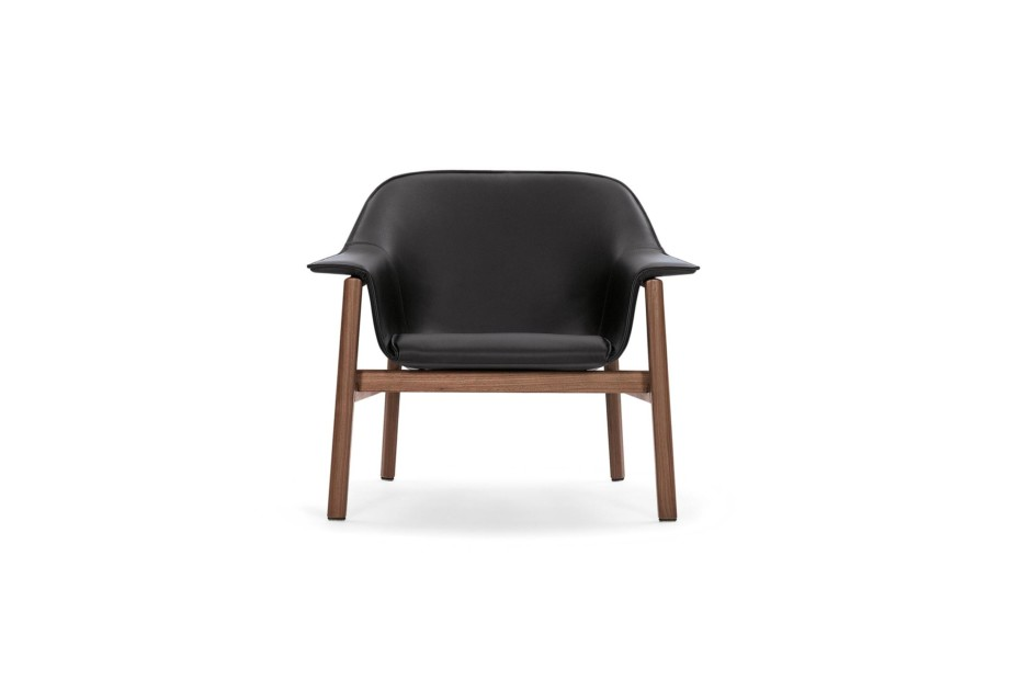 Sedan lounge chair leather