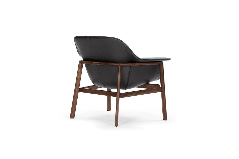 Sedan Lounge Chair Leder