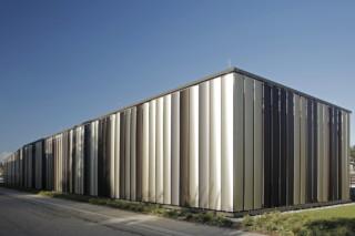 Metal lamellae Solarfin CEL 600, Bibliothek Dußlingen  by  Colt
