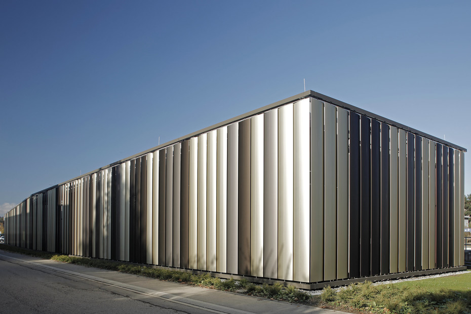 Metalllamellen Solarfin CEL 600, Bibliothek Dußlingen