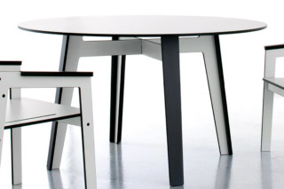 JIG table, round  by  conmoto