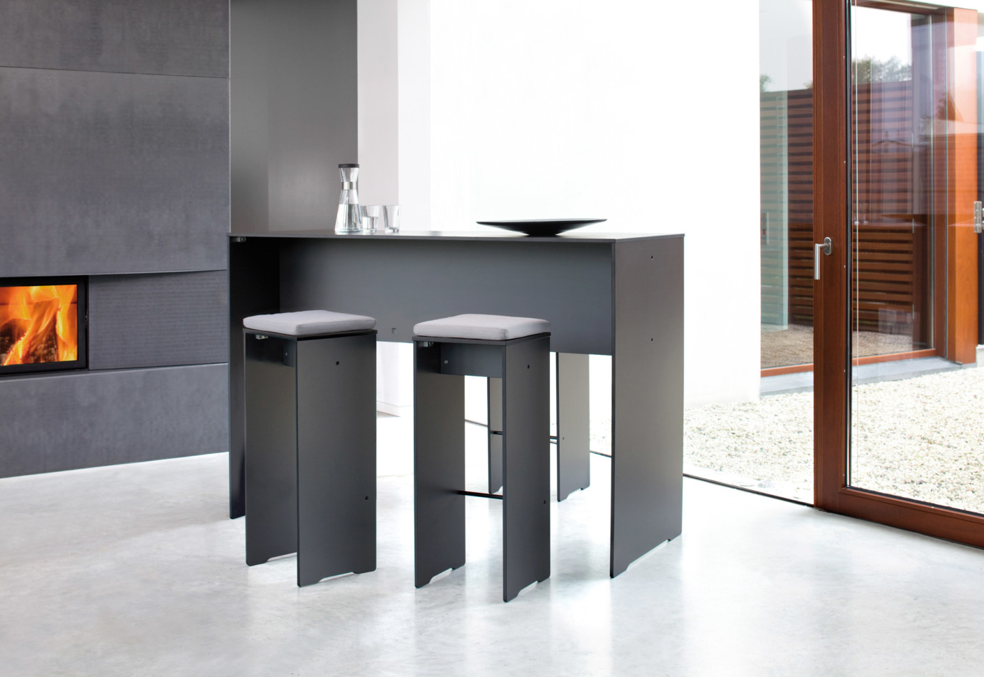 riva bartisch von conmoto stylepark. Black Bedroom Furniture Sets. Home Design Ideas