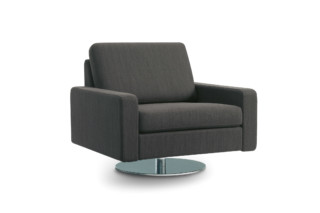 Conseta Armchair with rotatory plate  by  COR