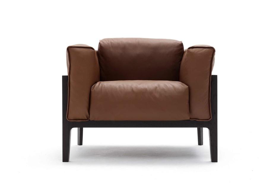 Elm armchair