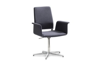 Fino swivel chair with armrest  by  COR