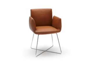 Jalis chair with wire rack  by  COR