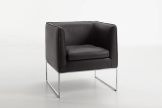 Mell armchair open base  by  COR