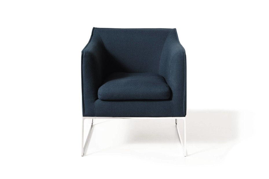 Mell armchair open base