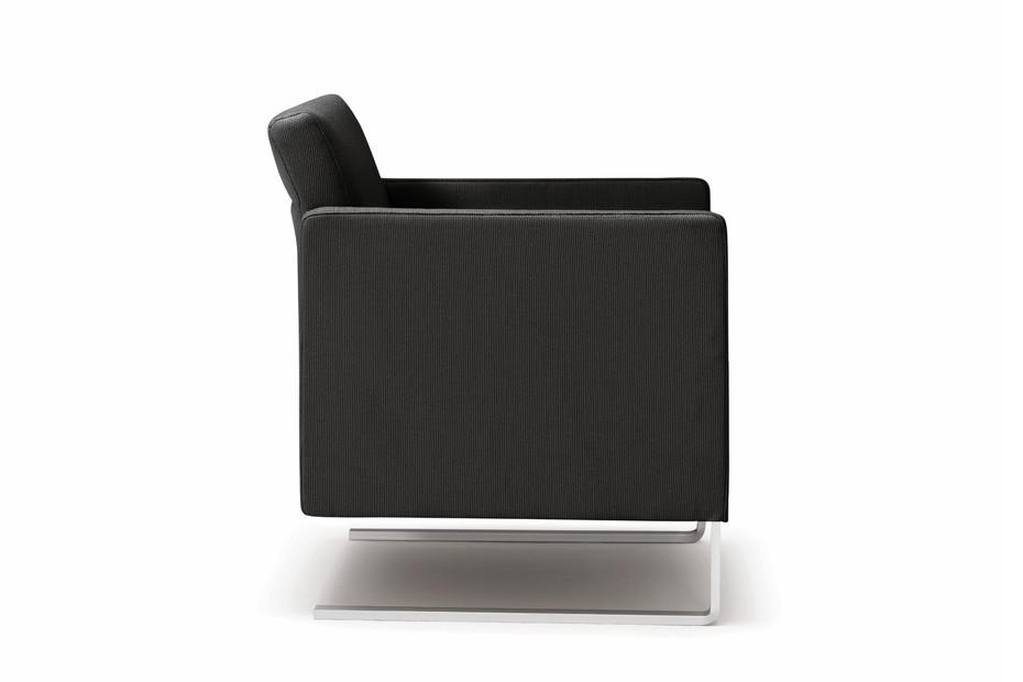 Rawi cantilever armchair