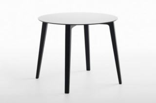 Mixis T table round  by  Crassevig