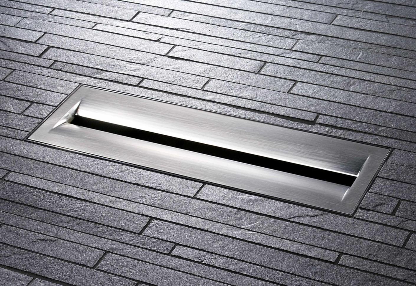 Floor drain ceraniveau with zentrix by dallmer stylepark for Ground drain