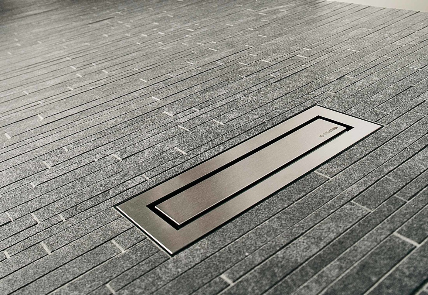 Bathroom Floor Drain : Linear floor drain ceraniveau by dallmer stylepark