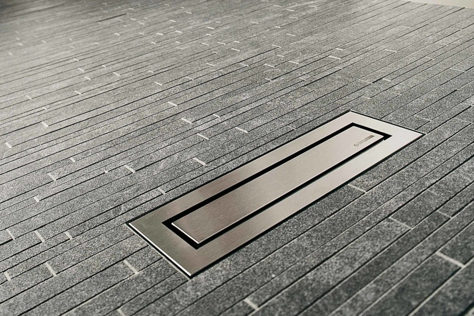 Linear Floor Drain Ceraniveau By Dallmer Stylepark