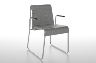 Farallon office chair with armrests  von  Danese