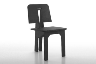 One side chair  by  Danese
